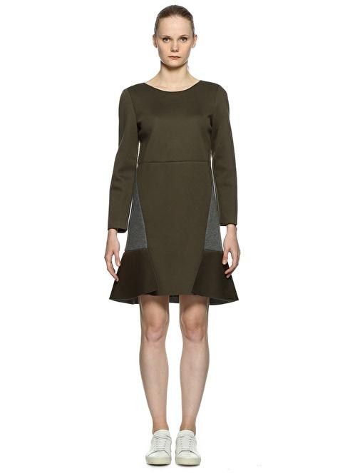 Semi Couture Elbise Haki